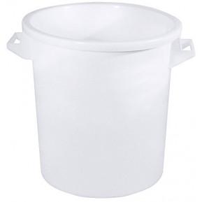 Kunststofftonne Polyethylen weiß 35l - ohne Deckel   Lager & Transport/Lebensmittelaufbewahrung/Eimer