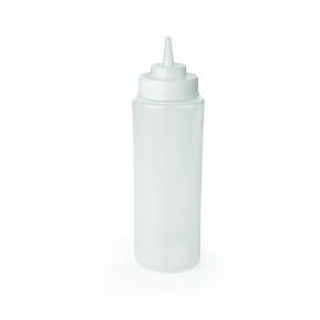 Dosage / flacon presseur, 0,95 litre, blanc