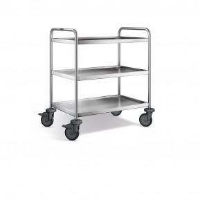 Blanco Servierwagen SW 8 x 5-3, Kunststoffrollen | Lager & Transport/Servier- & Transportwagen/Servierwagen