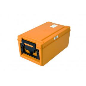 Rieber Thermobox 26 Liter Toplader beheizt, orange | Lager & Transport/Speisentransport/Speisentransportbehälter