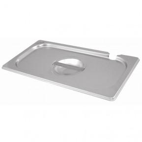 Couvercle pour Bacs Gastronormes ECO GN 1/2 -Avec trou de cuillère