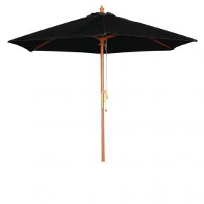 Sonnenschirm Bolero rund schwarz 2,5 meter