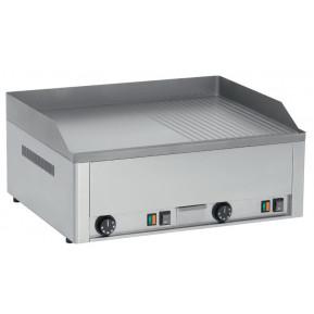 Elektro-Grillplatte PROFI 60 ½ glatt, ½ gerillt