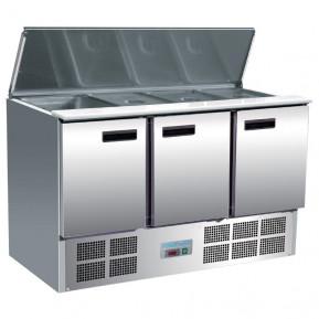 Saladette Polar 1370 mit Klappdeckel | Kühltechnik/Saladetten