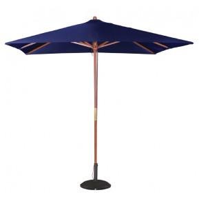 Parasol Boléro carré - largeur 2,5m - bleu