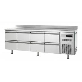 Bäckereikühltisch Premium 0/8 mit Aufkantung