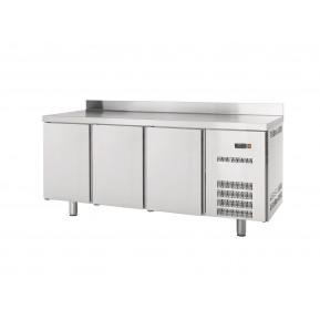 Table réfrigérée Profi 3/0 avec dosseret - GN 1/1