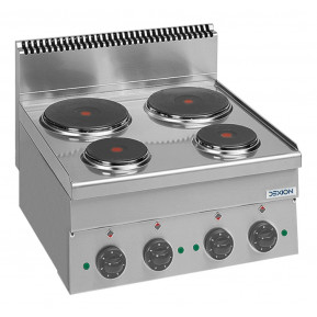 Elektroherd Dexion Serie 66 - 60/60 Tischgerät