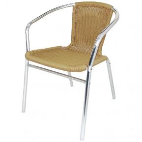 4 chaises en rotin Bolero nature, empilables