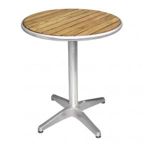 Table de café Bolero 800mm ronde avec plateau en bois de frêne