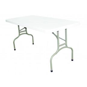 Table rectangulaire pliante Bolero 1520mm