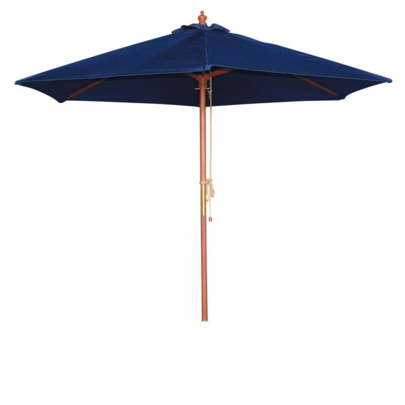 parasol bolero rond bleu fonc 2 5 m tres boutique en ligne gastro held. Black Bedroom Furniture Sets. Home Design Ideas