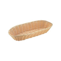 Polyrattan Brotkorb oval