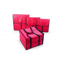 Pizza-Thermo-Transporttasche für 6 Pizzen bis Durchmesser 45cm | Lager & Transport/Speisentransport/Pizzatransport