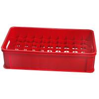 Gläserkasten 50 Fächer, rot, für 0,2L Gläser | Lager & Transport/Lagerausstattung/Lager- & Transportbehälter