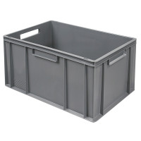 Euro-Stapelbehälter 600x400 mm, grau - 320 mm | Lager & Transport/Lagerausstattung/Lager- & Transportbehälter