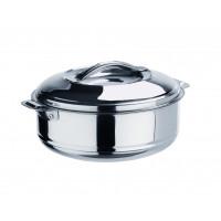 Thermobehälter aus Edelstahl mit Lappengriffe - 3,5 Liter | Lager & Transport/Speisentransport/Speisentransportbehälter