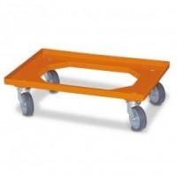 Transportroller orange | Lager & Transport/Servier- & Transportwagen/Transportroller