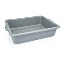 Plateau à vaisselle en polypropylène gris