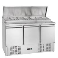 Belegstation ECO 1365 für 7 x 1/3 GN Behälter   Kühltechnik/Kühltische/Belegstationen