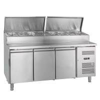 Belegstation ECO 3000 für 8 x GN 1/3 | Kühltechnik/Kühltische/Belegstationen
