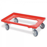 Transportroller rot | Lager & Transport/Servier- & Transportwagen/Transportroller