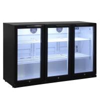 Barkühlschrank ECO 320 Liter mit Klapptüren schwarz | Kühltechnik/Kühlschränke/Barkühlschränke