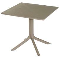Table Ohio 80 x 80cm taupe