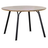 Dining Tisch Symi 120cm rund anthrazit/betongrau