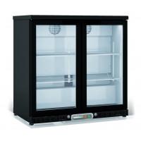 Barkühlschrank Profi 200 Liter schwarz | Kühltechnik/Kühlschränke/Barkühlschränke