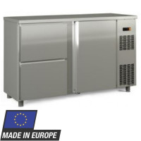 Barkühltisch PROFI 1/2 - Edelstahl