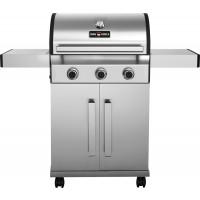Grill barbecue à gaz ECO 3 brûleurs ─ en inox