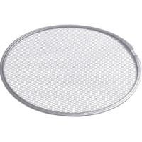 Grille de cuisson / à pizza  perforé en aluminium, diamètre : 30 cm