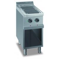 Elektroherd Dexion Serie 77 - 70/70 quadratische Kochflächen