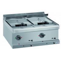 Friteuse électrique Dexion série 77 - 70/70 12+12 l - appareil à poser