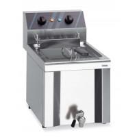 Friteuse électrique Profi 12 l avec robinet de purge, 400 V