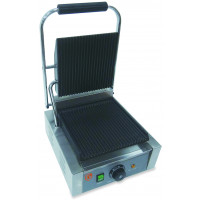 Elektro-Kontaktgrill ECO 1,8 kW, gerillt | Kochtechnik/Grills/Kontaktgrills