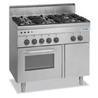 Gasherd Dexion Serie 66 - 100/60 mit Gasbackofen und Elektrogrill|Kochtechnik/Herde/Gasherde