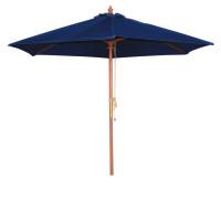 Sonnenschirm Bolero rund dunkelblau 2,5 meter