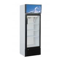 Réfrigérateur à boissons Eco 188 litres avec tête d'éclairage
