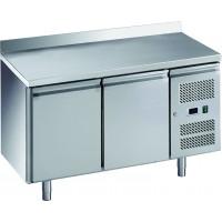 Table réfrigérée ECO 2/0 avec dosseret - GN 1/1