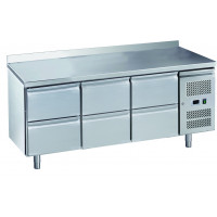 Kühltisch ECO 0/6 mit Aufkantung - GN 1/1 | Kühltechnik/Kühltische/Gastro-Kühltische/Gastro-Kühltische 700