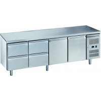 Kühltisch ECO 2/4 - GN 1/1 | Kühltechnik/Kühltische/Gastro-Kühltische/Kühltische-Mini