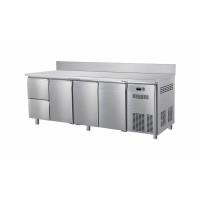 Kühltisch ECO 3/2 mit Aufkantung - GN 1/1   Kühltechnik/Kühltische/Gastro-Kühltische/Kühltische-Mini