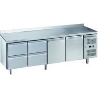 Kühltisch ECO 2/4 mit Aufkantung - GN 1/1 | Kühltechnik/Kühltische/Gastro-Kühltische/Gastro-Kühltische 700