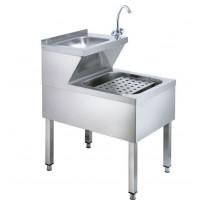 Combinaison de lave-mains et déversoir Basic 2