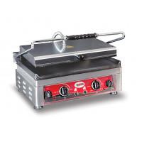 GMG Elektro-Kontaktgrill 45x27 unten glatt, oben gerillt mit 2 Temperaturreglern | Kochtechnik/Grills/Kontaktgrills