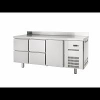 Kühltisch Profi 600 1/4 mit Aufkantung | Kühltechnik/Kühltische/Gastro-Kühltische/Gastro-Kühltische 600