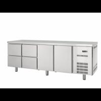 Table réfrigérée Profi 600 2/4