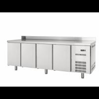 Table réfrigérée Profi 600 4/0 avec dosseret